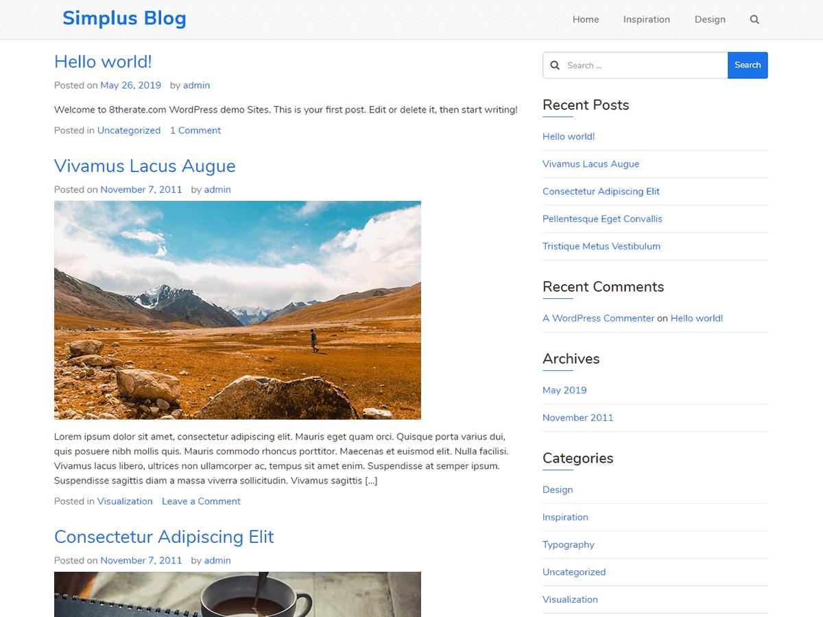 Simplus-Blog-theme